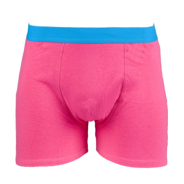 Wie findet man heißester Verkauf letzte Veröffentlichung Pink Boxershort bedrucken lassen